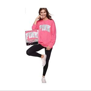 VS PINK Campus Crew & Campus Legging Gift Set